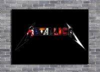 METALLICA - LOGO COVERS ART - canvas print - self adhesive poster - photo print (3)